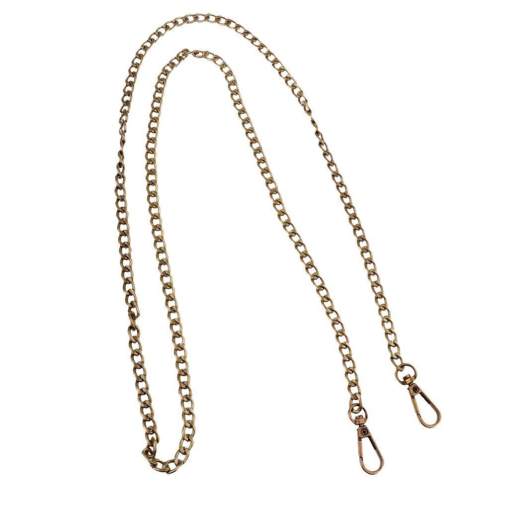 Bronze comme d/écrit Baoblaze Sac /À Main Bandouli/ère M/étal Lani/ère Bretelle Sangle De Rechange DIY Bricolage Accessoires Shoulder Bag 4 Couleurs 47.24 Pouces