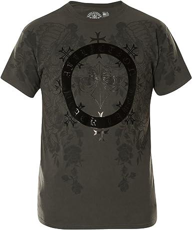 Affliction T-Shirt Black Bounty Black