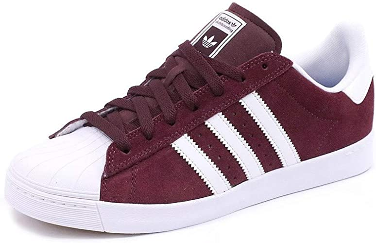 adidas Superstar Suede rouge Chaussures Baskets homme