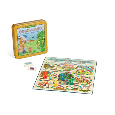 Candyland Deluxe Board Game in Classic Nostalgia Collector's Tin by Winning Solutions: Toys & Games