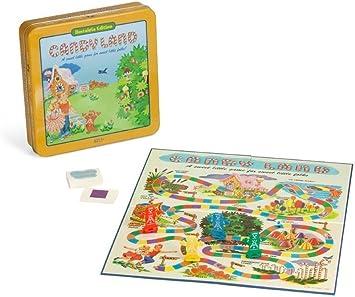 Candyland Deluxe – Juego de Tablero en Classic Nostalgia Lata de coleccionista por Ganar soluciones: Amazon.es: Juguetes y juegos