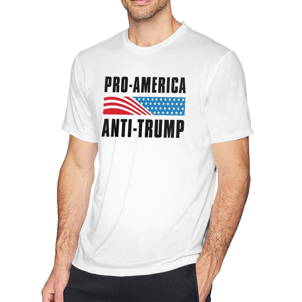 Casual Pro America Anti Trump, White Shirts