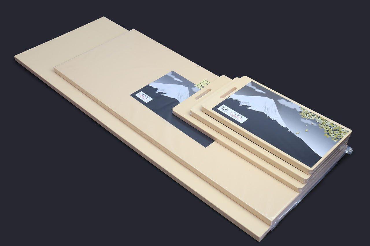 Yoshihiro HSOFS Hi-Soft High Performance Japanese Sashimi Chef\'s Tool Professional Grade Cutting Board, Small, Peach 517MkF-qeNL
