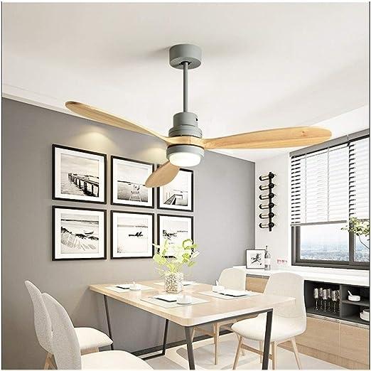 Lámpara de Montaje Empotrado Ventilador de Techo con luz LED ...