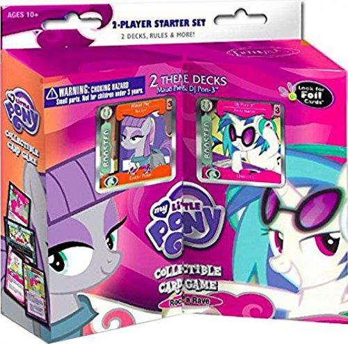 Ccg 2 Player Starter Deck - My Little Pony CCG: Rock N Rave 2-Player Starter Set