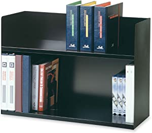 Steelmaster Two Tier Book Rack, 1 Each (26423BRBK)