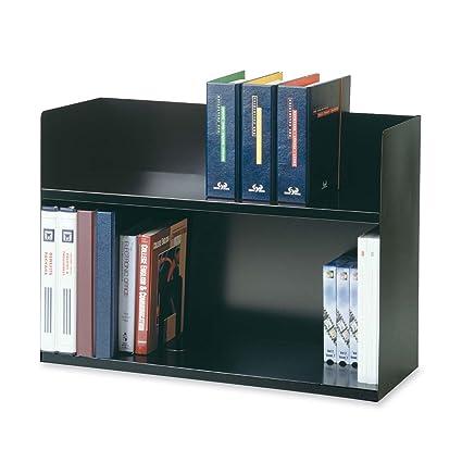 Best Amazon.com : STEELMASTER Two-Tier Steel Book Rack, 29.13 x 20 x  CN08