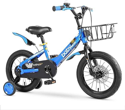 BAICHEN Estilo Libre Bicicleta niños Bicicleta niños Bicicleta 4 ...