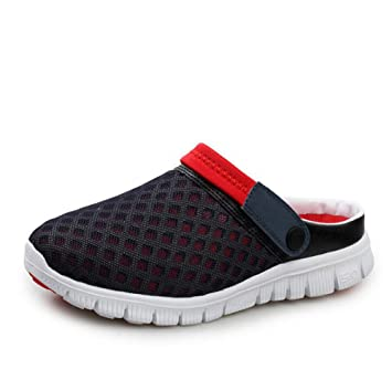 Beauqueen Unisex Doble Uso Crocs Huecos Ventilar Zapatillas acogedoras Zapatos de Playa Transpirables Plegable Zapatos Casuales caseros: Amazon.es: Deportes ...