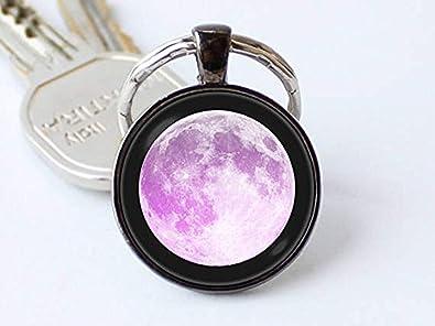 Beautiful Dandelion Llavero Lunar Llavero Luna Luna Luna ...