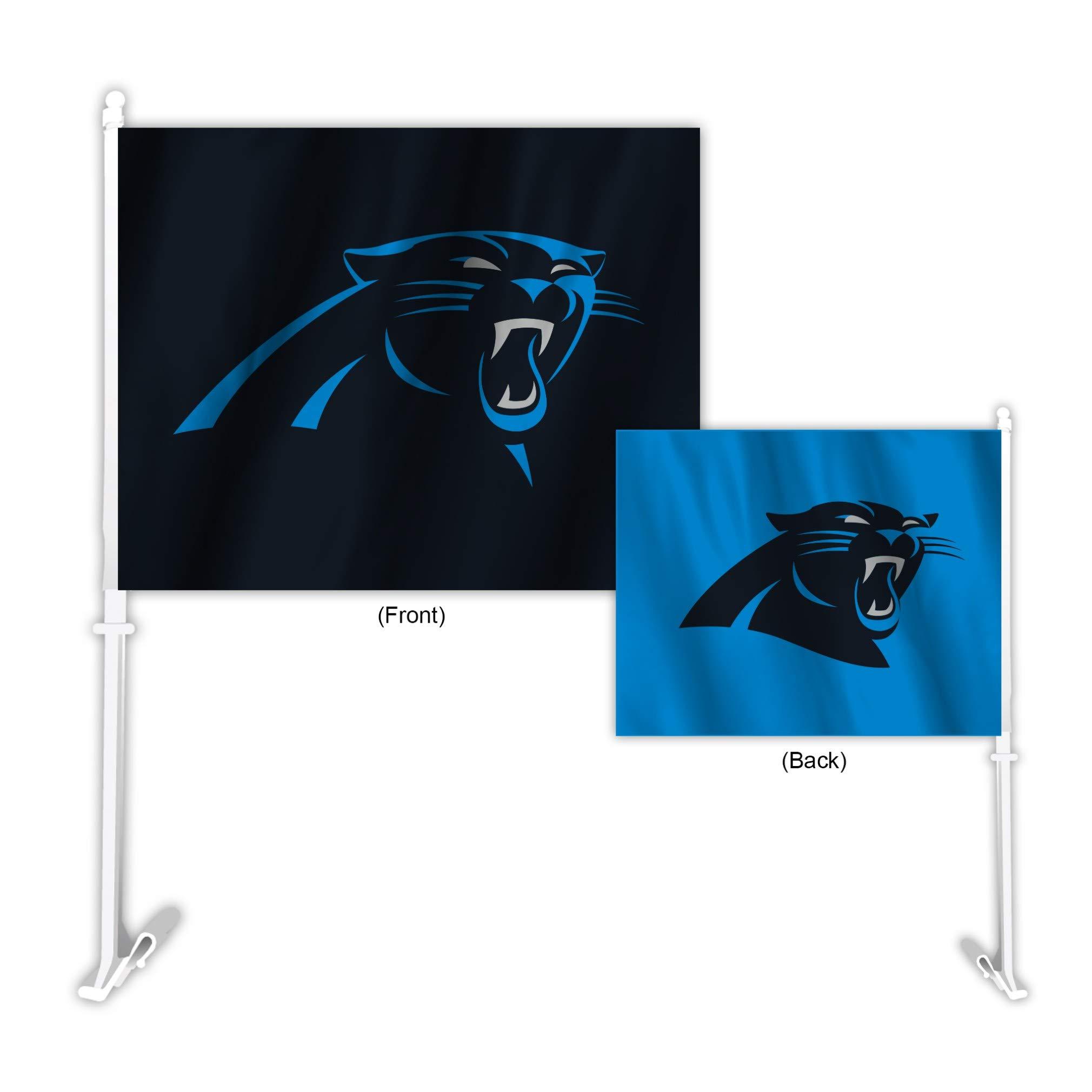 Fremont Die NFL Carolina Panthers Home & Away Car Flag
