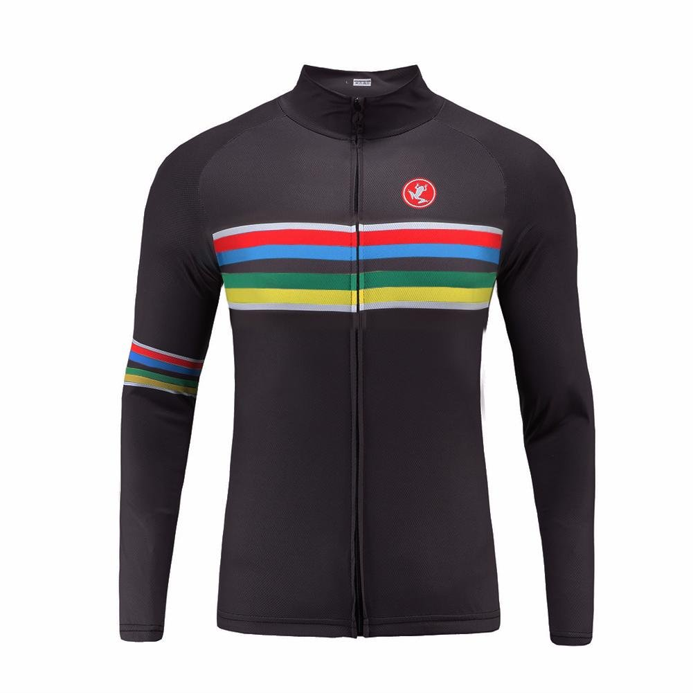 Uglyfrog Sporternメンズアウトドアスポーツサイクリング半袖サイクルジャージバイクウェア自転車シャツ B074C7ZCVV Medium|カラー02 カラー02 Medium