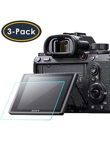 Para cámaras Canon EOS 80D Piel Protector de Pantalla de Vidrio Templado Film Láminas