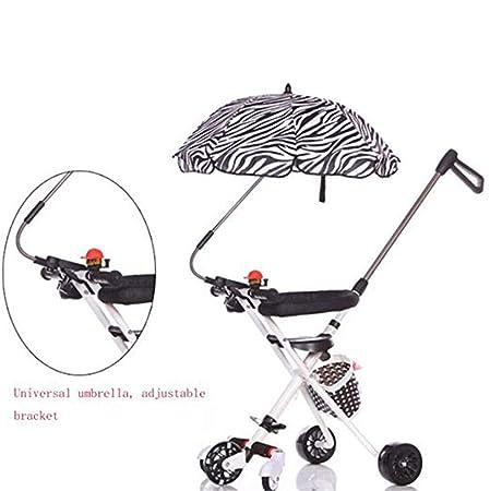 Amazon.com: JIN HUI HIHBaby - Carro de bebé con cinco ruedas ...