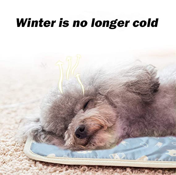 Dogbedpad Pet Heat Pad Calentador Eléctrico Mascota Perro Cachorro Cat Calefactor Cama Mat 9 Grado Temperatura Control Impermeable Caliente Mat: Amazon.es: ...
