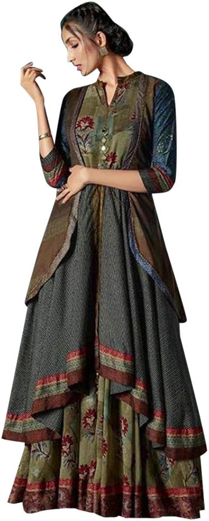 ETHNIC EMPORIUM Damen Designer Indian Ethnic Ganzkörper
