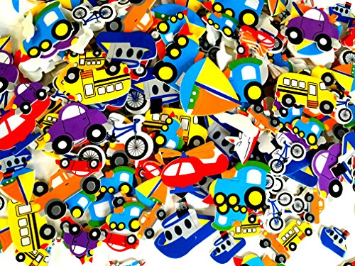 Transportation Foam Stickers