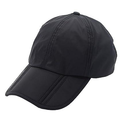 Amazon.com   Wencal Summer Outdoor Waterproof Rain Hat Foldable ... 334337ac984