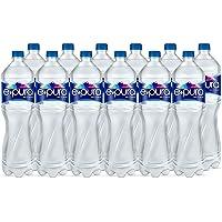 Epura Agua sin sodio, Agua Natural, 1.5 litros. Paquete de 12
