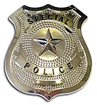 police badge silver amazon co uk toys games