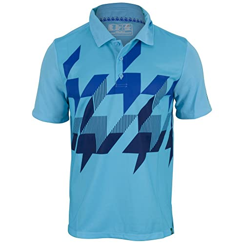 New Balance Mens Geospeed Polo Top, Tectonic Blue, Large: Amazon ...