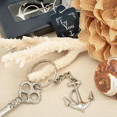 Ocean Themed Anchor Key Chain Beach Wedding Favors