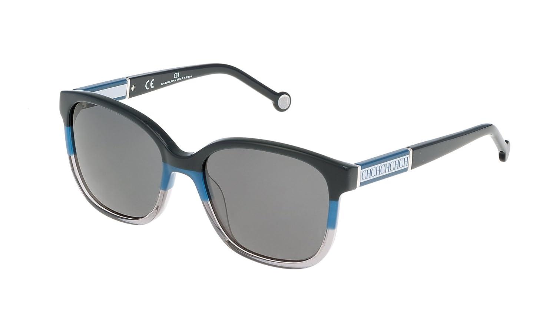 Carolina Herrera SHE595540AT4 Gafas de sol, Azul, 54 para ...