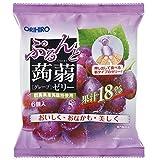 Orihiro Puru do and konnyaku jelly grape (20gX6 pieces) X6 bags