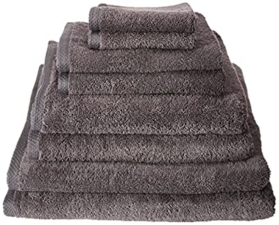 Premium 700 GSM 8 Piece Towel Set; 2 Bath Towels, 2 Hand Towels and 4 Washcloths - Cotton - Machine Washable, Hotel Quality, Super Soft and Highly Absorbent by Utopia Towels
