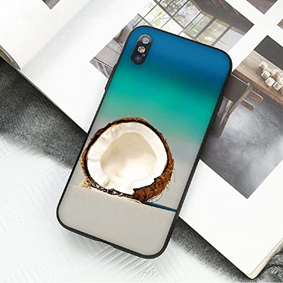 Amazon Com Best Fitted Case Fruit Coconut In Blue Sky