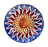 Next Innovations Sun Face Refraxions 3D Wall Art, Blue and Red