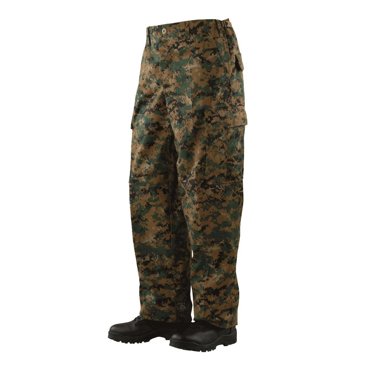 Tru-Spec Battle Trouser Digital Woodland