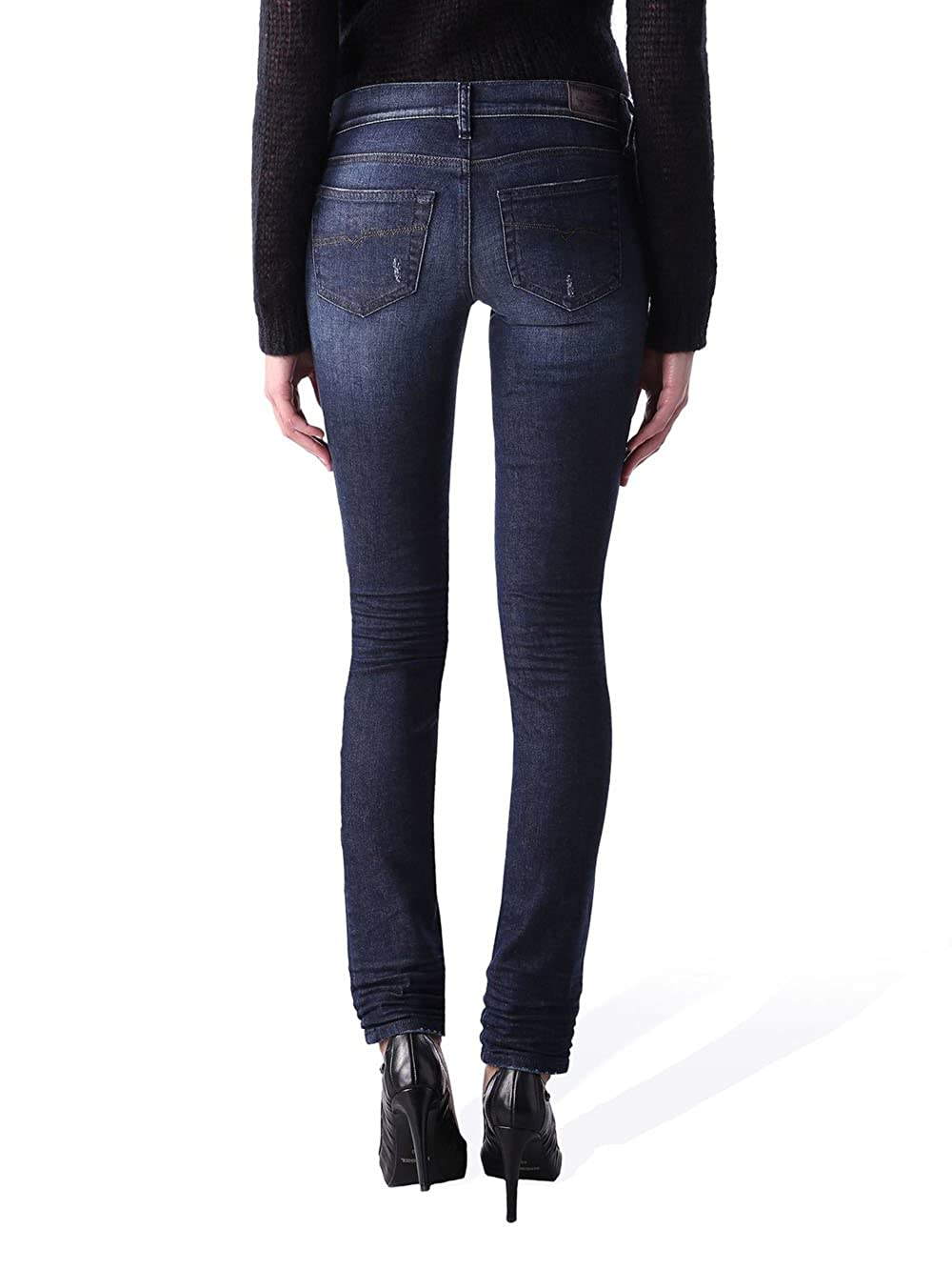13896be37a Diesel Sandy-B Patch 0851X Stretch Women s Jeans Pants Slim Bootcut   Amazon.co.uk  Clothing