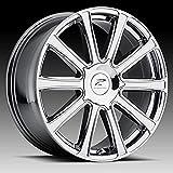 5 lug 22 inch rims - Platinum Divine 22 PVD Chrome Wheel / Rim 5x115 & 5x5.5 with a 15mm Offset and a 78 Hub Bore. Partnumber 410-2227V+15