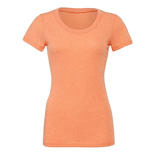 Bella+Canvas - Cameron - meliertes Vintage T-Shirt / Orange, S: Amazon.de:  Bekleidung
