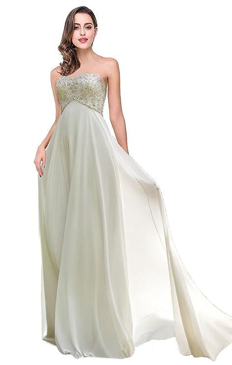 Favors Dress Women\'s Sweetheart Beach Wedding Dress Bead Bridal Gown ...