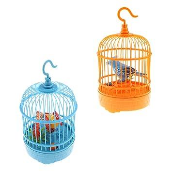 Amazon.es: Sharplace 2pcs Jaula de Pájaro Control de Sonido ...
