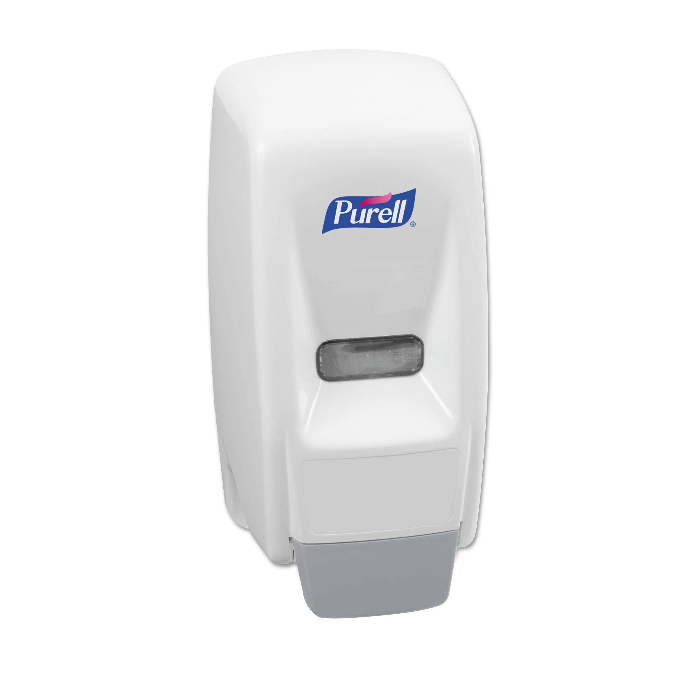 PURELL 800 Series Bag-In-Box Hand Sanitizer Push-Style Dispenser, Dispenser for 800 mL Sanitizer Bag-in-Box Refills - 9621-12