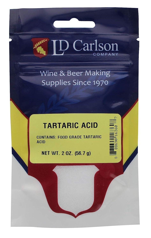 LD Carlson 6360A Tartaric Acid 2 oz.