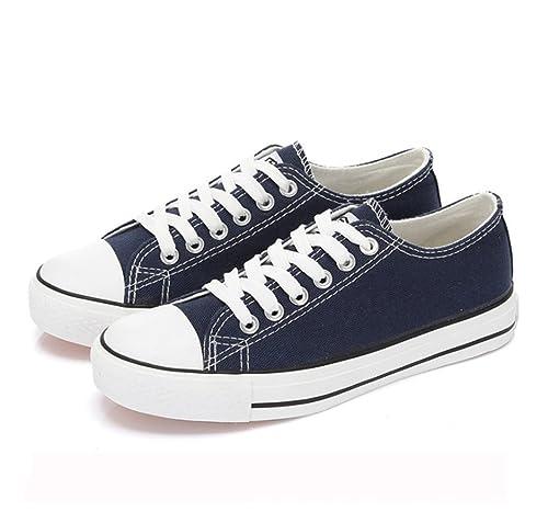 Classic Zapatos de Lona Mujer Casual Zapatilla Deportiva: Amazon.es: Zapatos y complementos