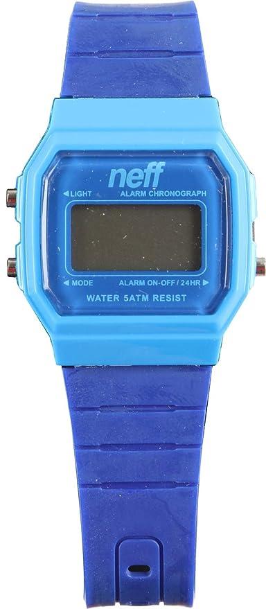 Neff Reloj unisex de resistente al agua Flava