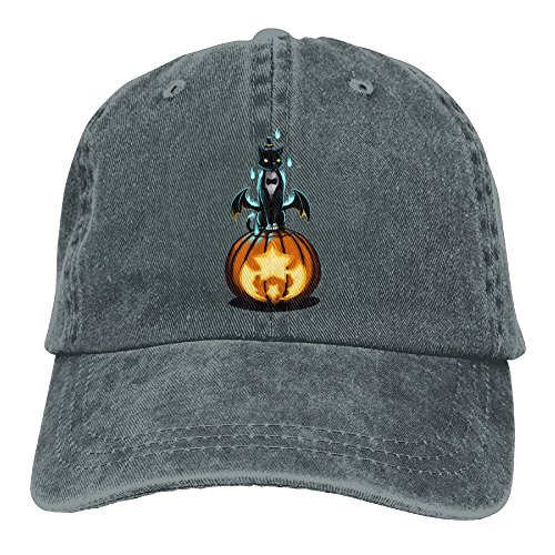 Burning Black Cat Cowboy Hat Adult Adjustable (Burning Man Cat Costume)