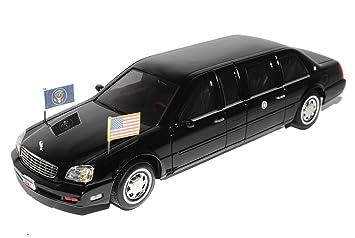 Cadillac DeVille Präsidenten Limousine USA 2001 Stretch Schwarz ...