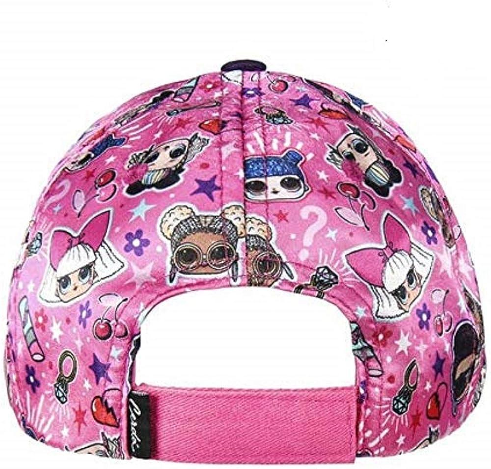 Rosa Textil y complementos lol Unisex Kids 8.42793E+12 LOL Premium Cap 53 Centimeters