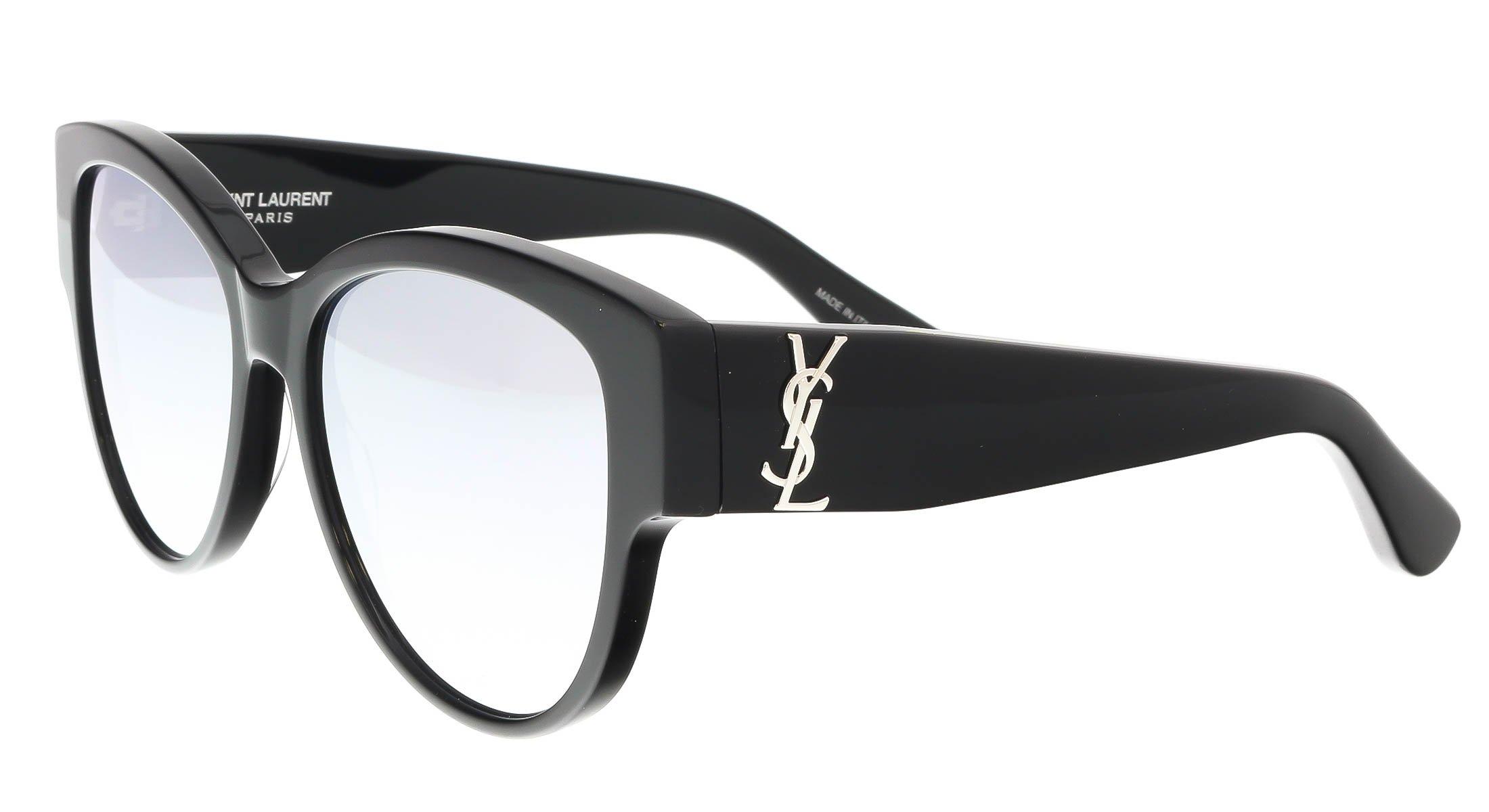 Sunglasses Saint Laurent M 3 SL M 003 BLACK / SILVER / BLACK by Saint Laurent