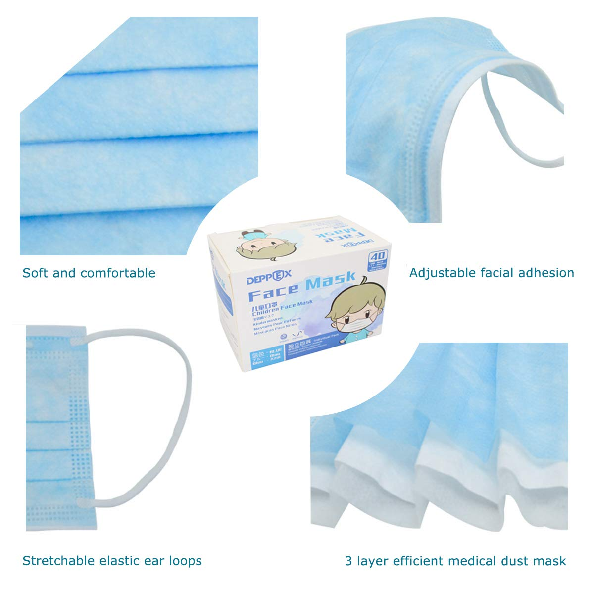 deppex disposable face mask