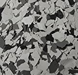 American Abrasive Supply, Vinyl Chip Blend Wood Duck 1/4'', VCPBGY1002