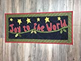 Joy to the World Christmas Handmade Classic Tapestry