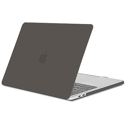 Funda para MacBook Pro 13 2016/ 2017/ 2018/ 2019, TECOOL Delgado Cubierta de Plástico Dura Case Carcasa para MacBook Pro 13 Pulgadas con / sin Touch ...