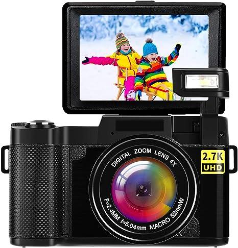 Camara de Fotos Camara Fotos Full HD 2.7K 24MP Videocámaras Camara ...